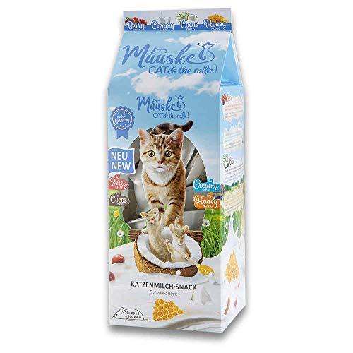 Muuske Cat Milk Katzenmilch, 4 Geschmacksrichtungen 20 x 20 ml