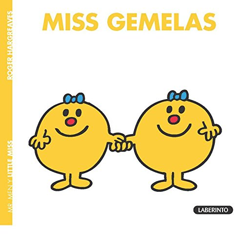 MISS GEMELAS (Mr. Men y Little Miss) por ROGER HARGREAVES