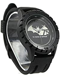 75años de Batman negro Stealth–Reloj de hombre (bat7001)