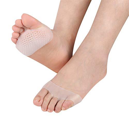 Almohadillas metatarsianas para deportes de bola de pies Morton almohadillas de neuroma bolas de pies almohadillas extra suave amortiguación insertos