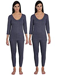 Selfcare Women's Cotton Thermal Set