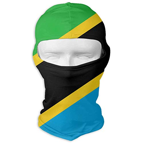 Unisex Pasamontañas Bandera Tanzania Deporte Máscara