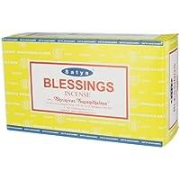 Satya Nag Champa Räucherstäbchen Blessings, 12 Stück preisvergleich bei billige-tabletten.eu
