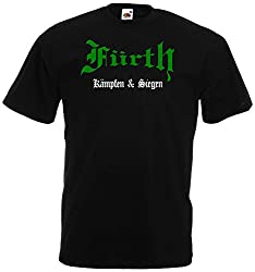 world-of-shirt Herren T-Shirt Fürth kämpfen und siegen