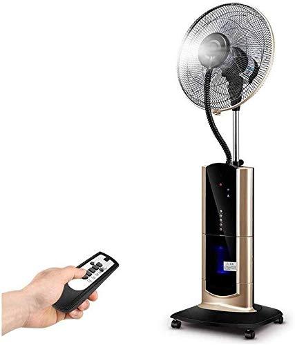 Qianqiusui Piso Ventilador de pie, un humidificador, un secador por aspersión, un Mando a Distancia...