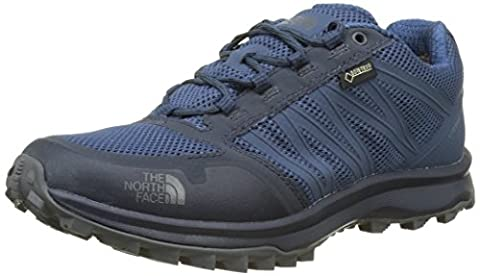 The North Face Men's Litewave Fastpack Gore-Tex Low Rise Hiking Boots, Blue (Shady Blue/Zinc Grey), 9 UK 43 EU