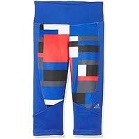 Adidas Yg T Y TF 3/4 T - Mallas Capri para niños de 11-12 años, Color Azul