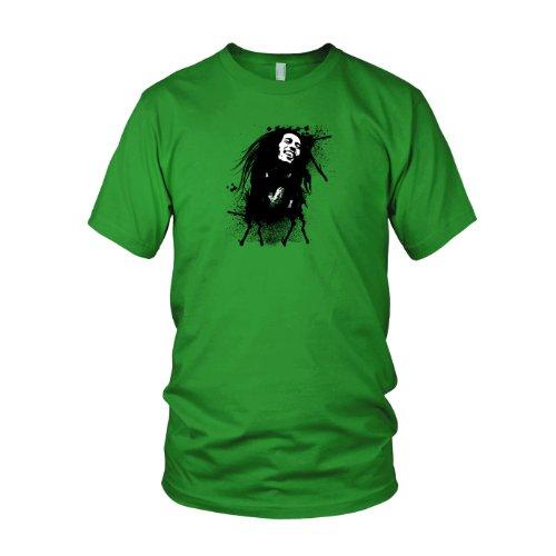 Marley Splash - Herren T-Shirt Grün