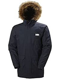 Helly Hansen DUBLINER Parka - Parkaacolchadaimpermeable para hombre, color azul, talla M