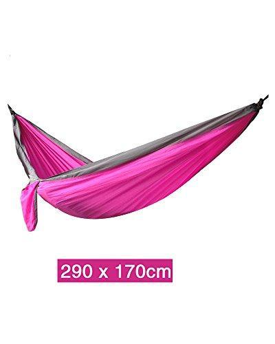 LPYMX Hamac de tissu de parachute, hamac de camping, hamac portatif, (Couleur : 15)