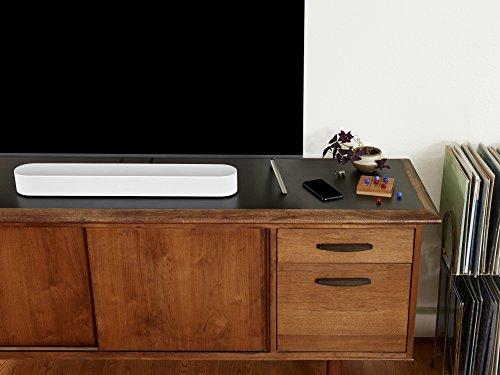 41VT9u6%2B2rL [Bon Plan Amazon] Sonos Beam - La Barre de Son TV compacte et intelligente avec le service vocal Amazon Alexa intégré. Home Cinéma multiroom sans Fil et musique en Streaming dans toutes les pièces - Blanc