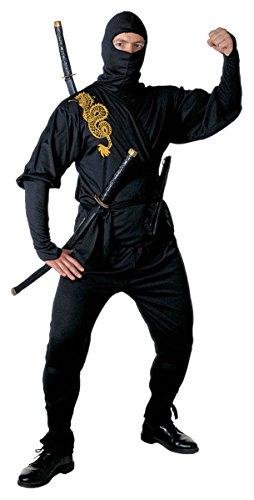 WIDMANN Herren Ninja Kostüm Gr. L (106,7/111,8 cm) für orientalische chinesische Kostüme