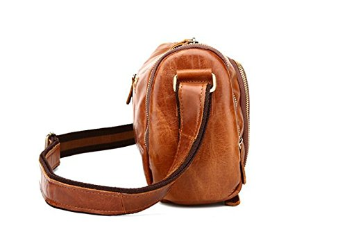 DJB/ Aktuelle Mann Tasche retro Herren Mode Freizeit single Schulter geschlungen Taschen Crazy Horse Leder 3