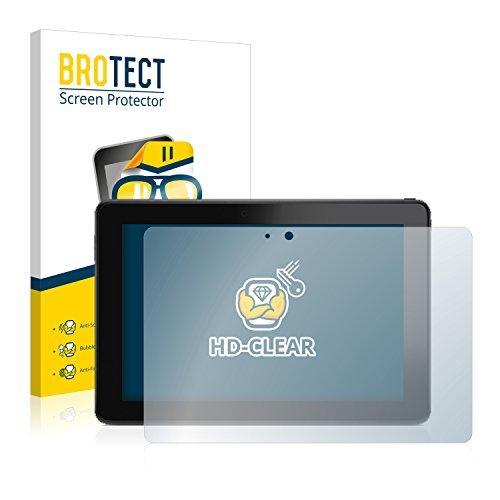 BROTECT Schutzfolie kompatibel mit Dell Venue 10 Pro [2er Pack] klare Bildschirmschutz-Folie