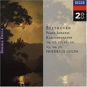 Beethoven : Klaviersonaten 14, 15, 17, 21, 22, 23, 24, 32