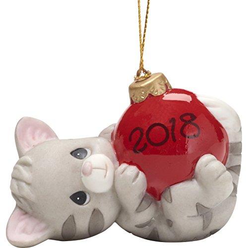 Precious Moments May Your Urlaub Werden FECT datiert 2018Katze Ornament (Datiert Weihnachtsbaum Ornamente)