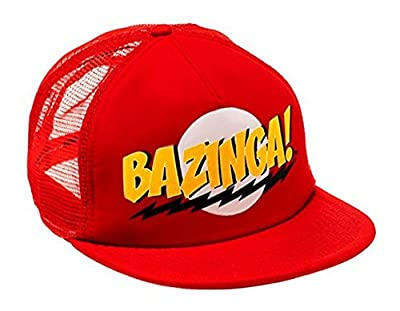 Big Bang Theory Bazinga Red Snapback Casquette de Baseball