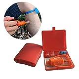 YUEWO Kit de mordedura de Serpiente, Bomba de succión de picadura, Herramienta de Seguridad de Primeros Auxilios, Bomba de succión extractora de Veneno, Primeros Auxilios de mordida y picadura