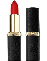 L'Oréal Paris Make Up Designer Color Riche Rouge à Lèvres Mat 344 Retro Red