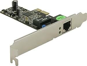 DELOCK Gigabit LAN PCI Express Karte, 1 Port