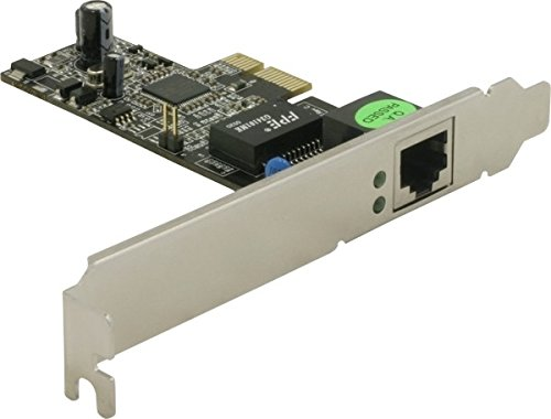 DeLock Gigabit LAN PCI Express Karte, 1 Port 2000 Half Sheet
