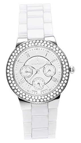Stella-Maris-Womens-Quartz-Watch-with-White-Dial-Analogue-Display-White-Ceramic-Bracelet-and-Diamonds-STM15S2