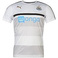 Puma 2016-2017 Newcastle Training Football Soccer T-Shirt Trikot (White) - Kids