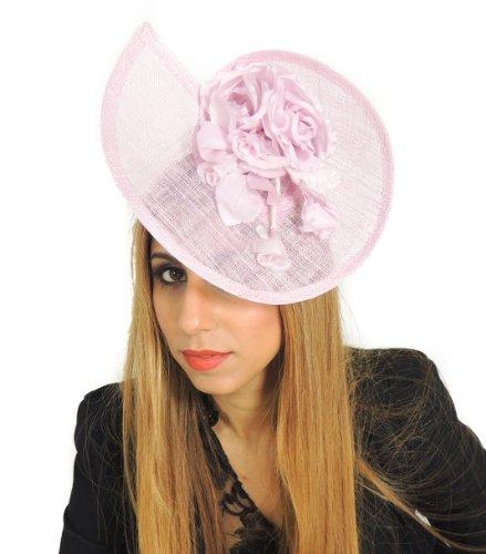 Hats By Cressida - Capeline - Femme Rose - Rose bébé