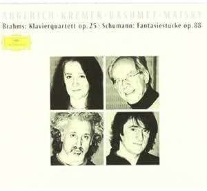 Brahms: Piano Quintet / Schumann: Fantasiestücke