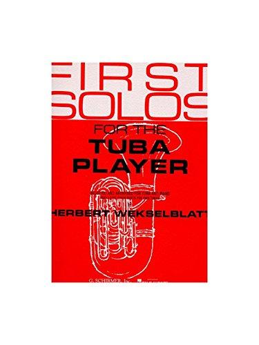 Buchcover First Solos For The Tuba Player. Für Tuba, Klavierbegleitung