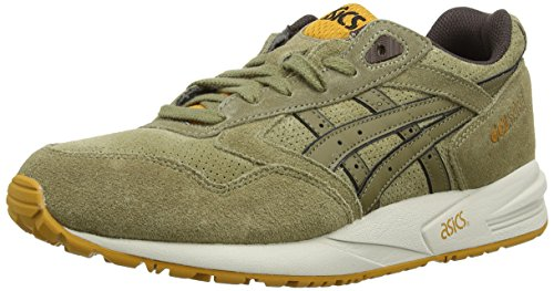 ASICS Gelsaga, Chaussures Multisport Outdoor Mixte adulte Vert (Light Olive/Olive 3386)