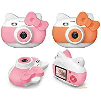 VG Toys & Novelties 12 Megapixel HD Mini Kids Digital Camera and Video Recording - 2 Inch Screen with 16Gb Memory Card…