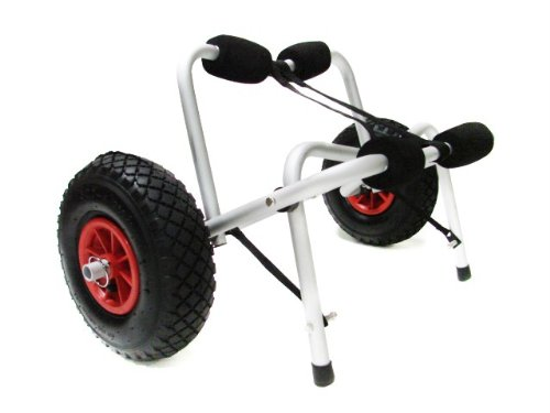 Price comparison product image TMS CART-CANOE / KAYAK-KY001 New Jon Boat Kayak Canoe Carrier Dolly Trailer Tote Trolley Transport Cart Wheel