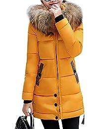 comprar online abbc6 d2b12 Amarillo Anorak De Ropa es Mujer Plumon Amazon Mujer Abrigo ...
