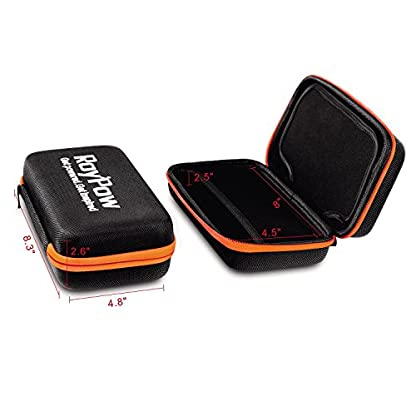 RoyPow Funda multi usos, Resistente, a prueba de golpes, impermeable, funda universal de viaje, bolsa para arrancador, par power bank, gps, accesorios electronicos