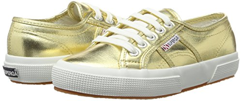 oro 39.5 Superga 2750 COTMETU S002HG0 Sneaker donna Gold 6 UK zct