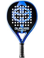 Duruss Cobalt Pala de Padel, Unisex Adulto, Blue/Black, Talla Única
