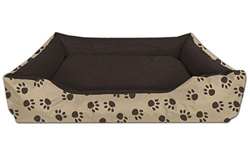 BedDog Hundebett LUPI, Hundesofa aus Cordura, Microfaser-Velours,