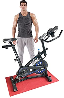 Indoor Cycling Exercise Bike For Home Use, Aerobic Fitness Studio Cycles with New Phone/Tablet/Bottle Holder, Hand Pulse from Pleny