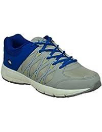 Allen Cooper E16 Grey Blue Men's Sports Shoes
