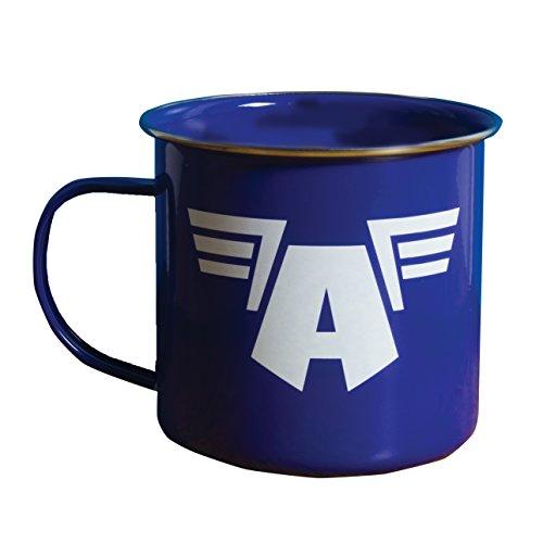 Marvel Mug (Marvel Avengers Captain America Zinnbecher)