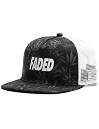 Cayler & Sons Snapback Cap - FADED TRUCKER schwarz