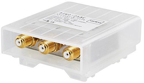 Venton DiseqC-Schalter Switch U-HD 2 Eingänge 1 Ausgang Umschalter für LNB Signal mit Wetterschutzgehäuse 2 Satelliten 1 Teilnehmer Sat-Receiver kein Multischalter von MultiKom