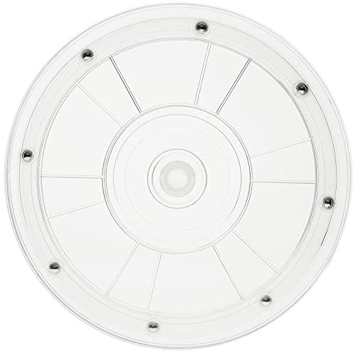 Oferta de PrimeMatik - Base giratoria Manual de 20,3 cm. Plataforma Rotatoria Transparente