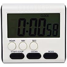 LUFA Digital Time magnético LCD grande digital cocina temporizador alarma contar hasta y abajo reloj 24 horas