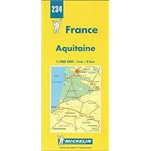 Carte routière : Aquitaine, N° 234