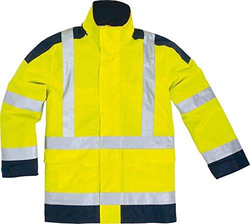 Gamma Easyview ad alta visibilità Hi-Vis gialla impermeabile Parka da donna