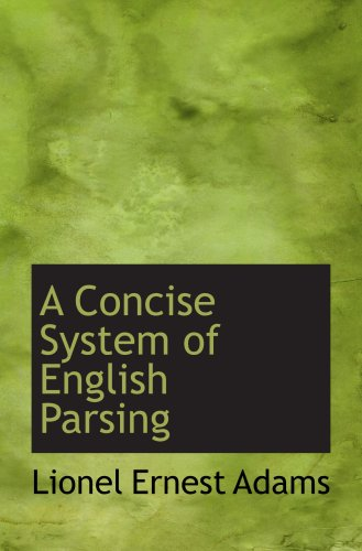 a-concise-system-of-english-parsing