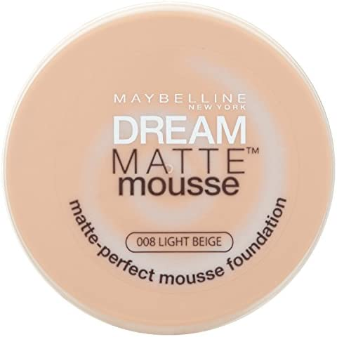 Maybelline Dream, Fondotinta compatto in mousse, 8 Light Beige, 18 ml