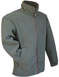 Jack Pyke Countryman chaqueta de disparo de forro polar Jumper Caza y Pesca Senderismo Verde verde Talla:medium